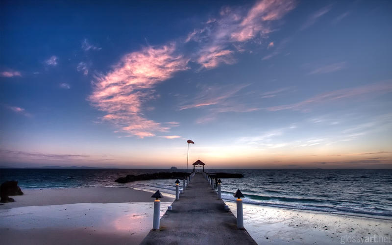Sunrise at the Pier by nxxos