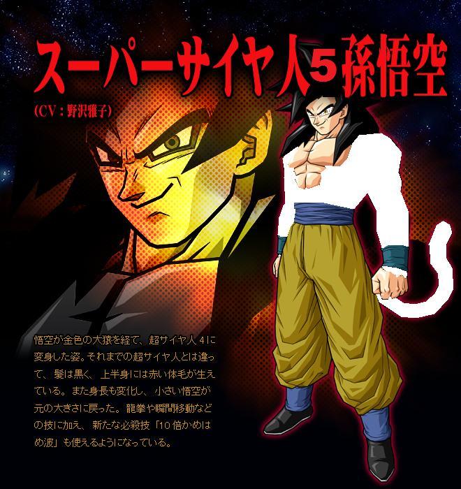 Super saiyan 5 goku by dragon ball af edits