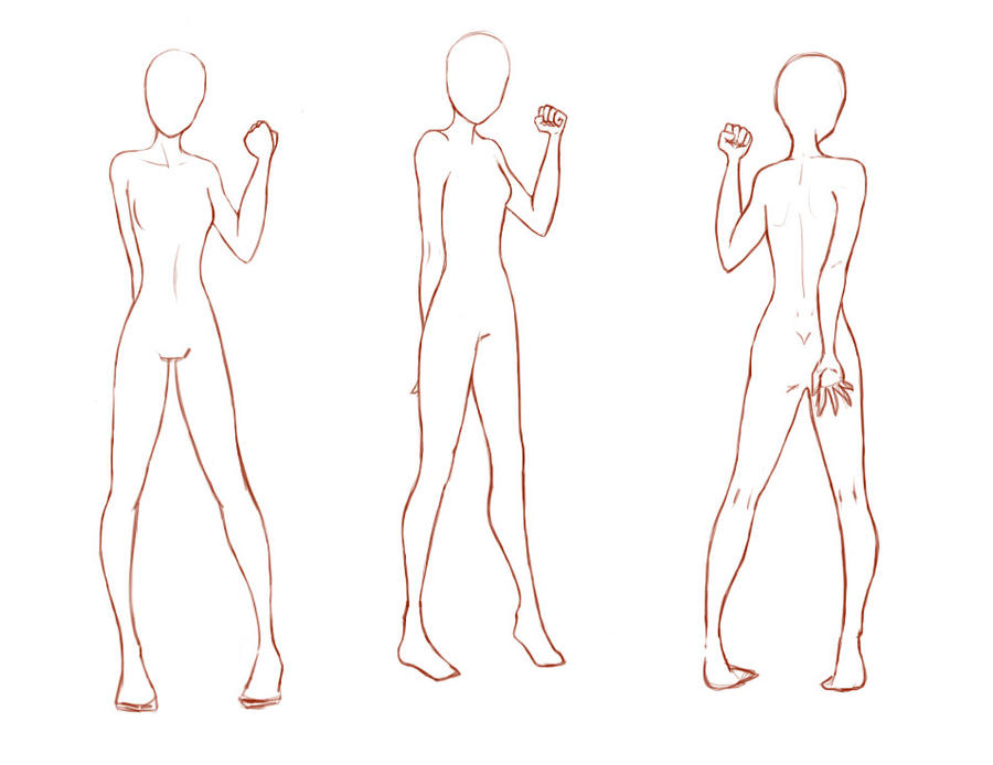 Jan 13, · To draw an anime body, start by drawing a stick figure with small circles Then, draw the head, neck, and torso with a waistline on top of the stick figure outline. Finish the body by drawing the limbs, using the joints to guide you%(66).