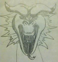 Frank the Dragon (head)