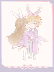 Commission: Bunny Love
