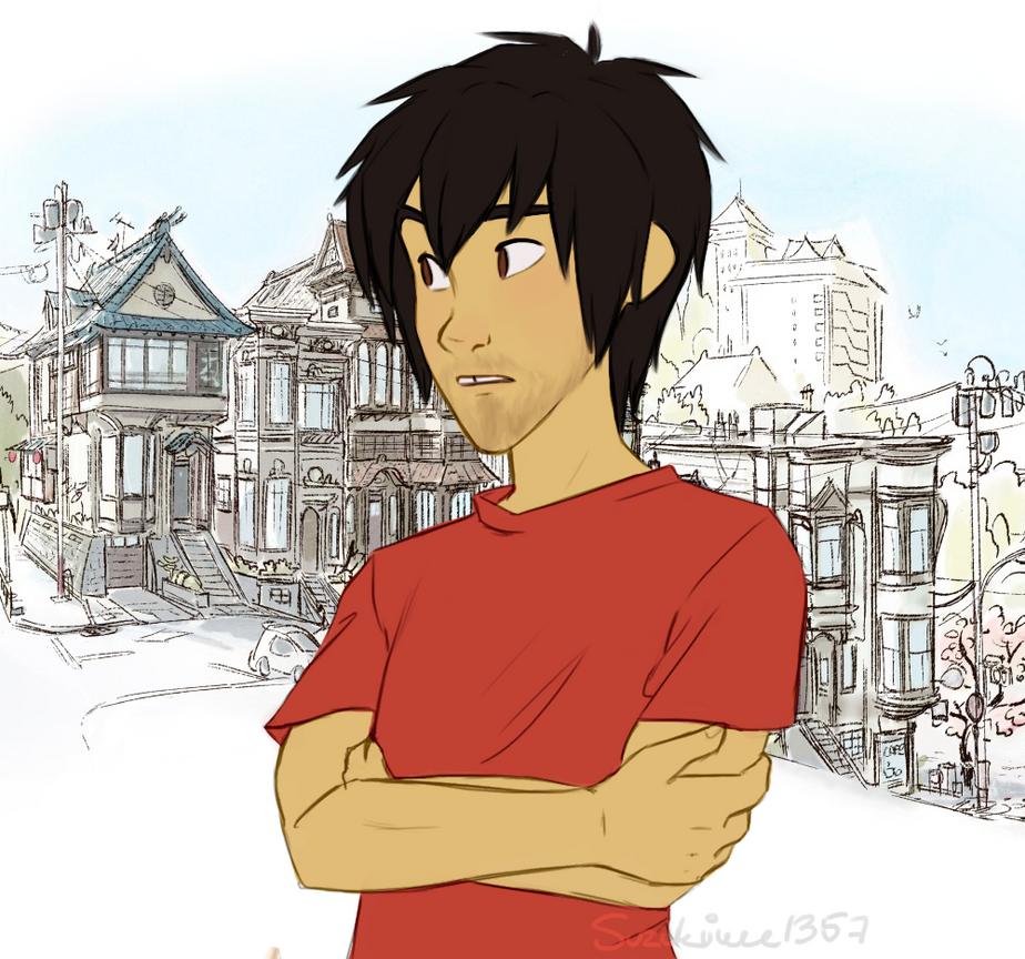 Hiro the hottie by Suzukiwee1357