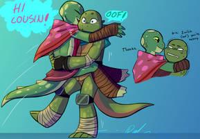 TMNT: Cousins by Suzukiwee1357