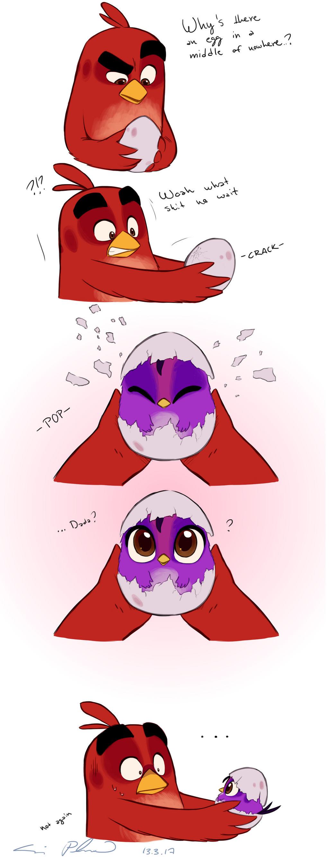 Angry Birds Babysitting By Suzukiwee1357 On Deviantart