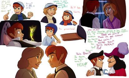 Disneyfied Hook: sketchdump