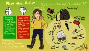 Meet The Artist by Suzukiwee1357