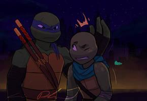 TMNT NEXT GEN: Father and Son by Suzukiwee1357