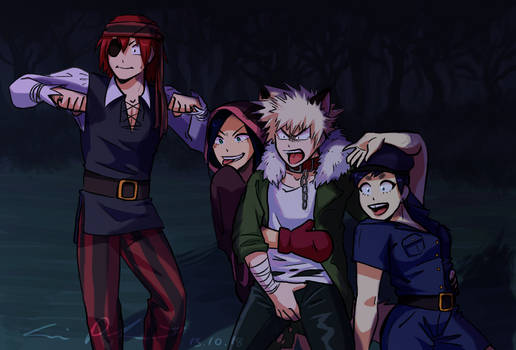 BNHA: Spoopy Forest