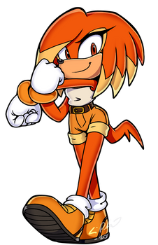 SONIC: Ember the Echidna