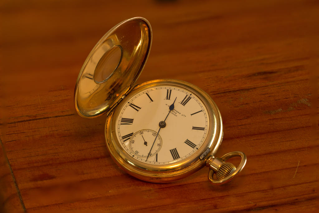 Great Grandfather's Fob Watch by DogCatPie