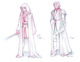 Revenge of the sith sketches