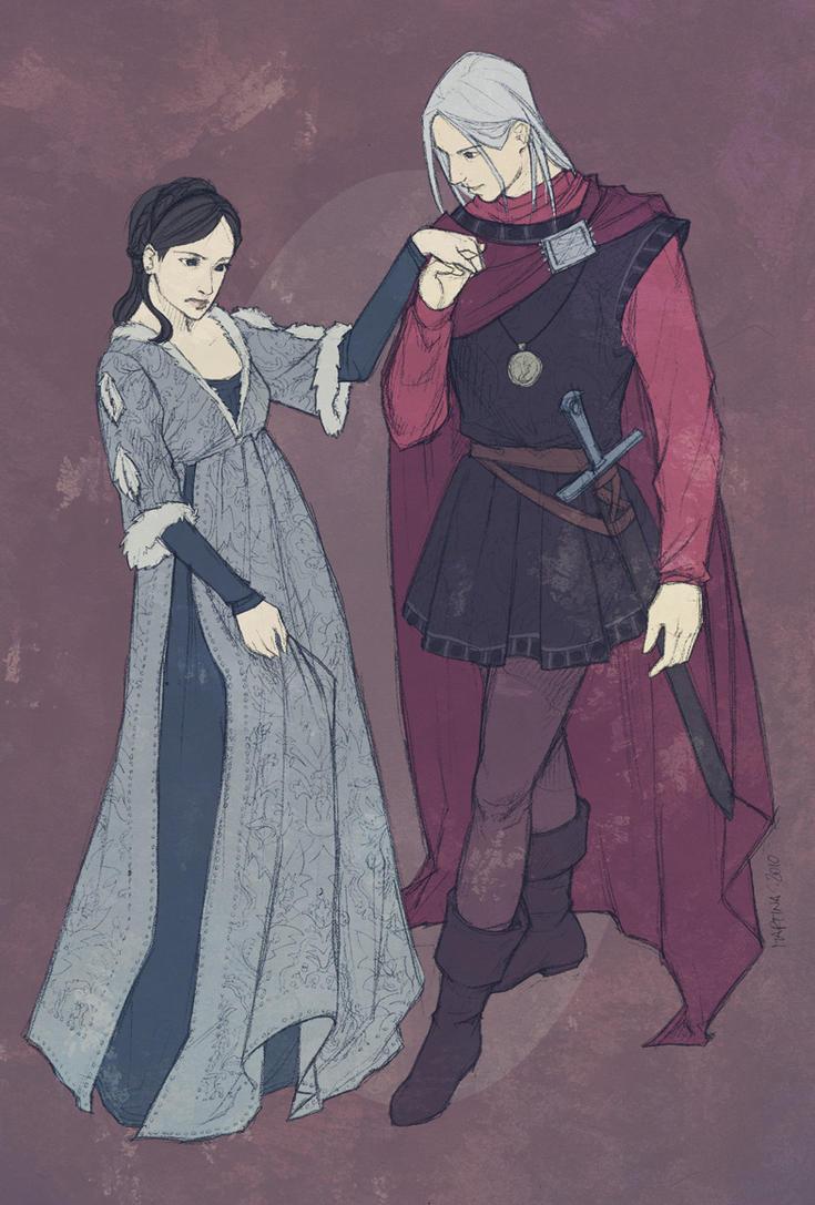 Rhaegar and Lyanna by martinacecilia