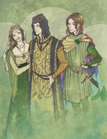 Renly's Court by martinacecilia