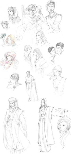 asoiaf sketches