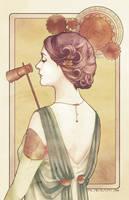 Steampunk madame by martinacecilia