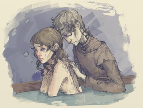 Winterfell bath