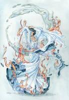 the bride on fire by martinacecilia