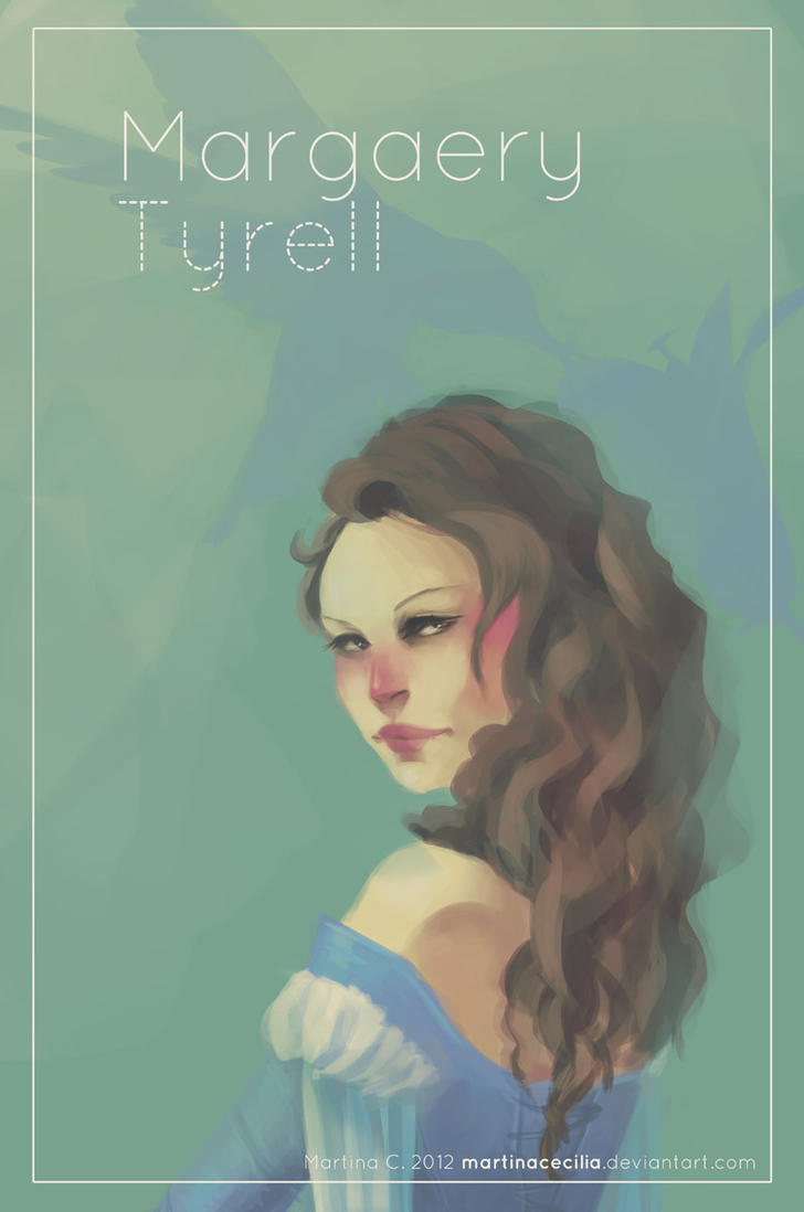 Girls of Westeros - Margaery by martinacecilia