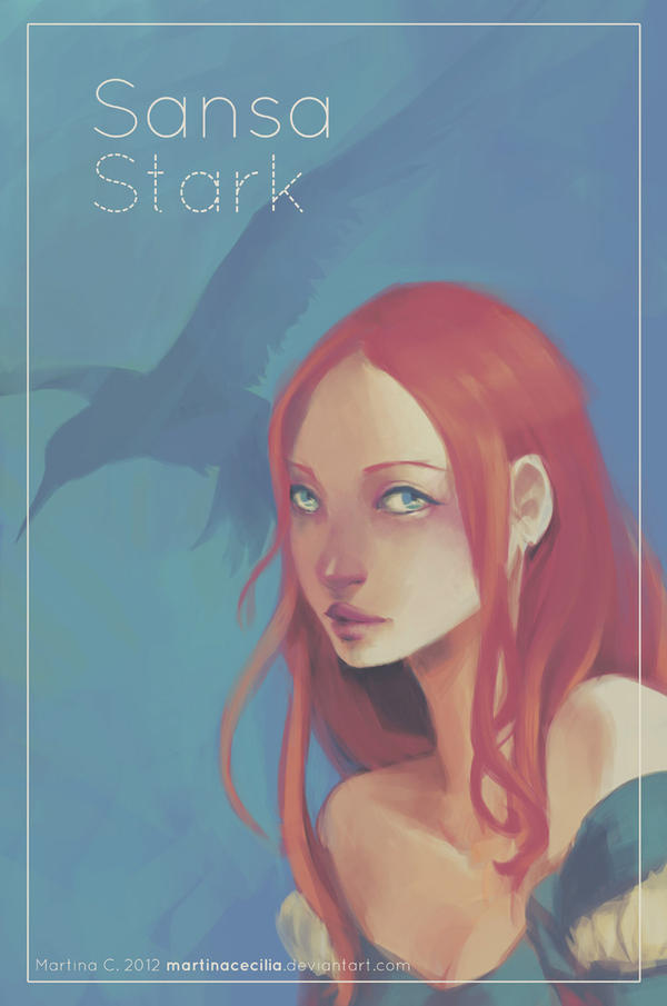 Girls of Westeros - Sansa by martinacecilia