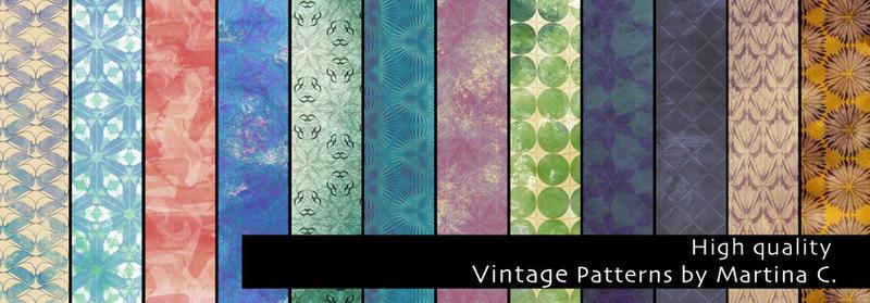 Vintage patterns pack - High quality