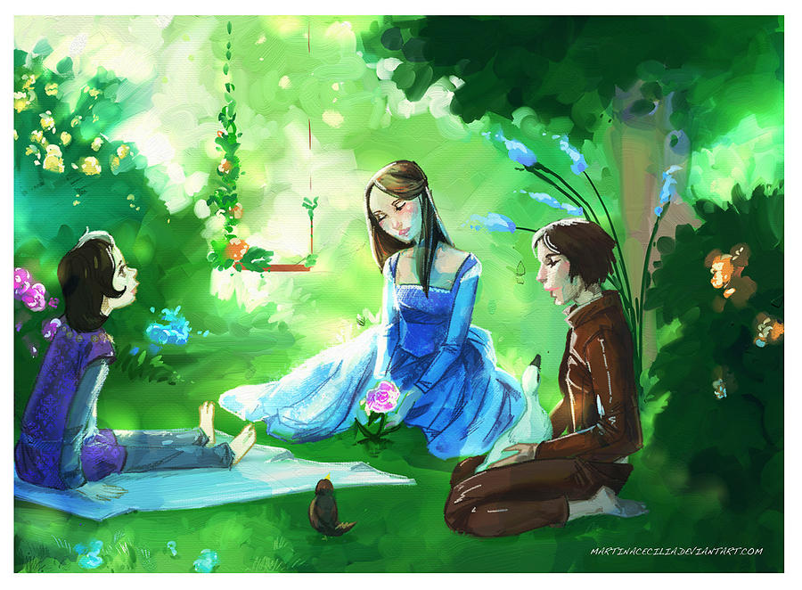 Asoiaf - The Secret Garden AU by martinacecilia