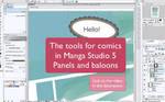 Panels and balloons in manga studio 5 - tutorial