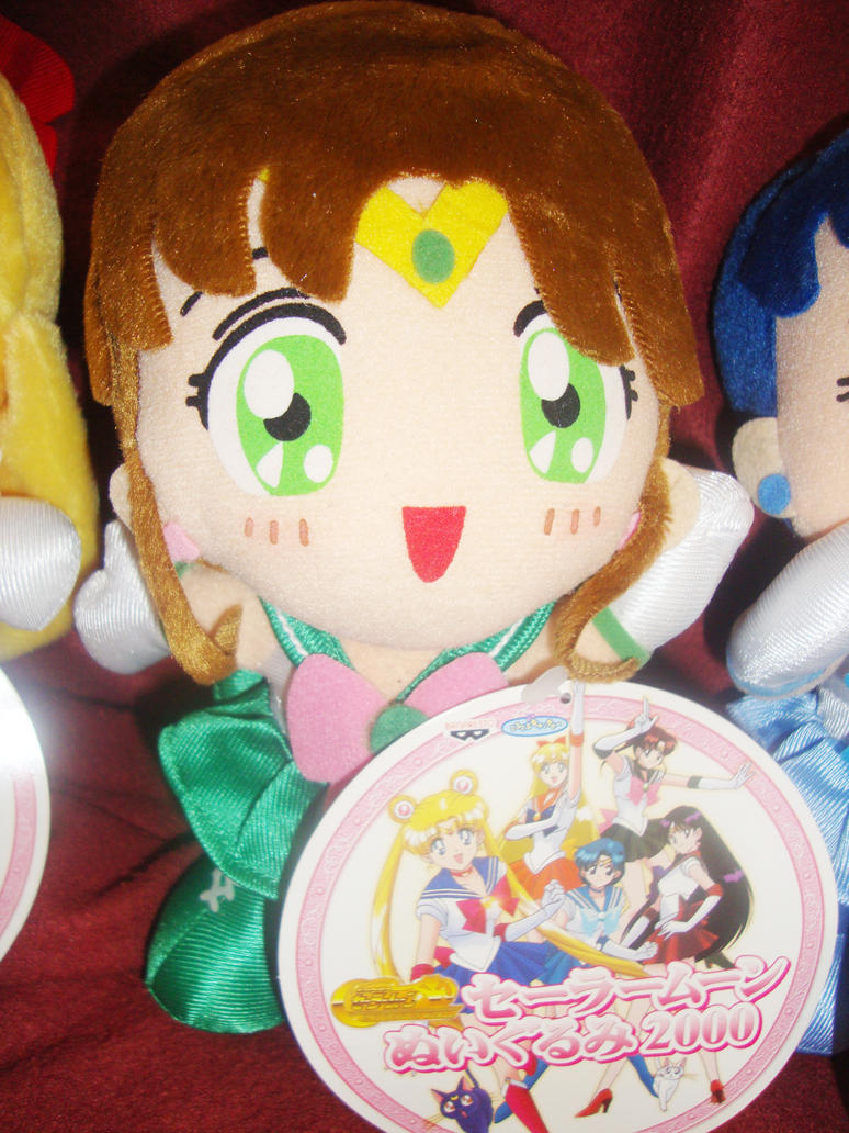 Sailor Jupiter World plush by DeepblueIchigo