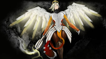 Mercy from Overwatch by alexism77