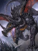black dragon by ozma02