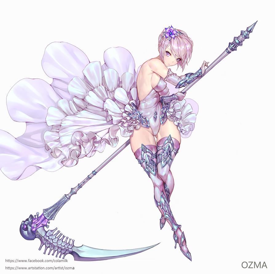 Death scythe by ozma02