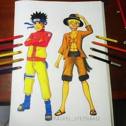 Naruto x Luffy