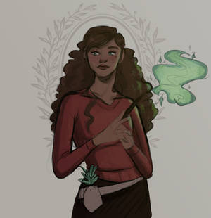 Green Magic by WitchWhispers