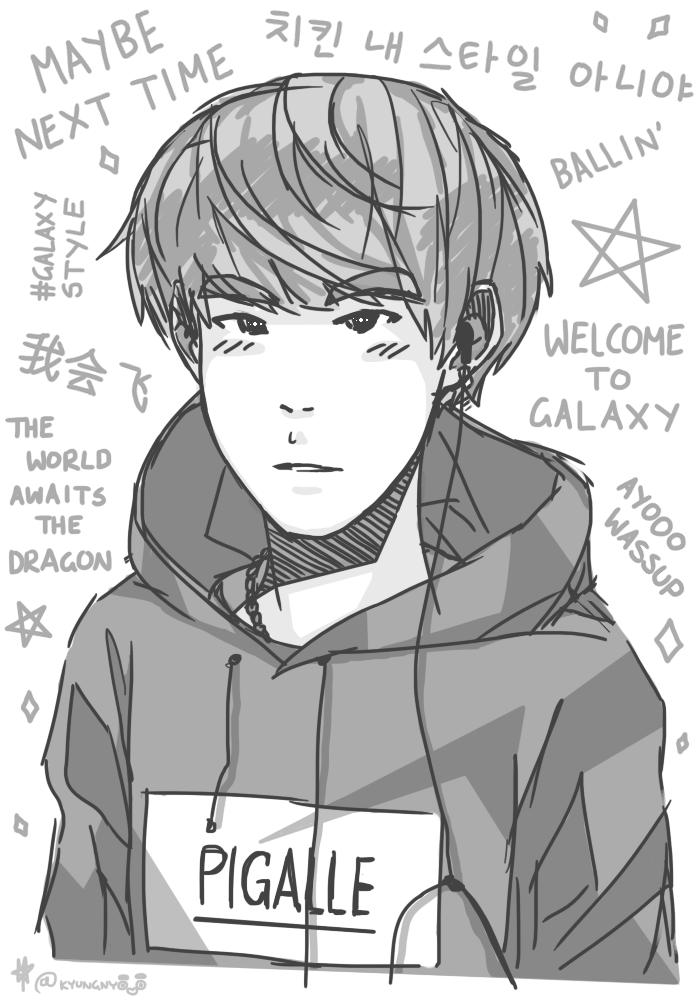 galaxy by H-I-K-A