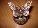 Perfume bottle 2 -butterfly-