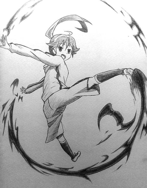 Monogatari Series - Araragi Karen by oohjam
