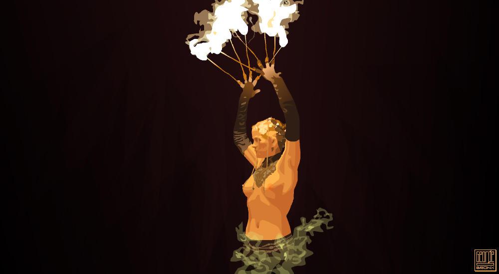 Phoenix Rising by Stuffins