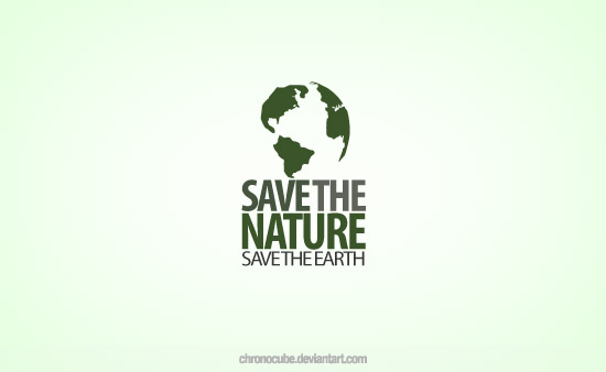 Save The Nature Logo Design by chronocube