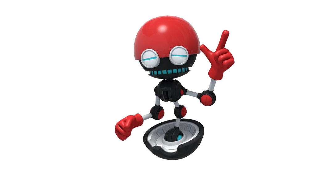Sonic forces: orbot by Tjthefoxx on DeviantArt