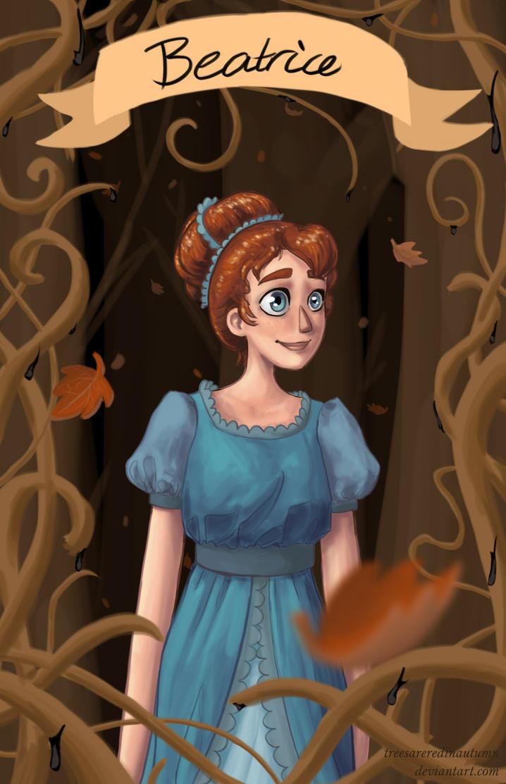 Beatrice by treesareredinautumn