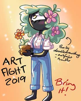 ArtFight 2019: Pam-tastic