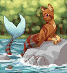 Artfight 2019: Cat-Fishhh by treesareredinautumn