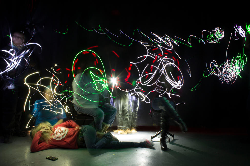 class light painting 1 by Quicksilver1