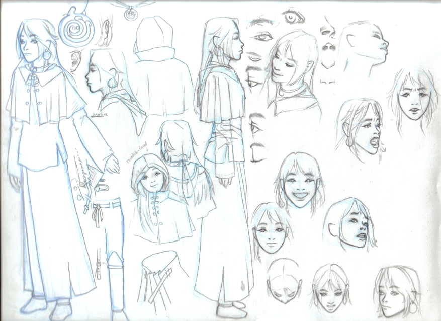 Character Design Masterclass Book One : Character design by doodle master on deviantart