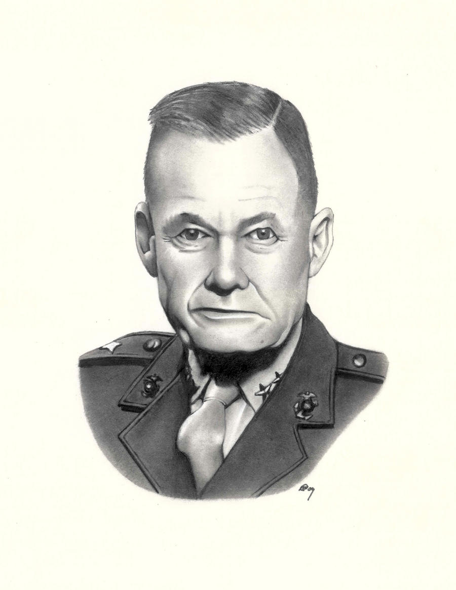 Chesty Puller by greenboyxxx