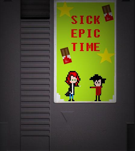 Sick EPIC TIME NES by SickComics
