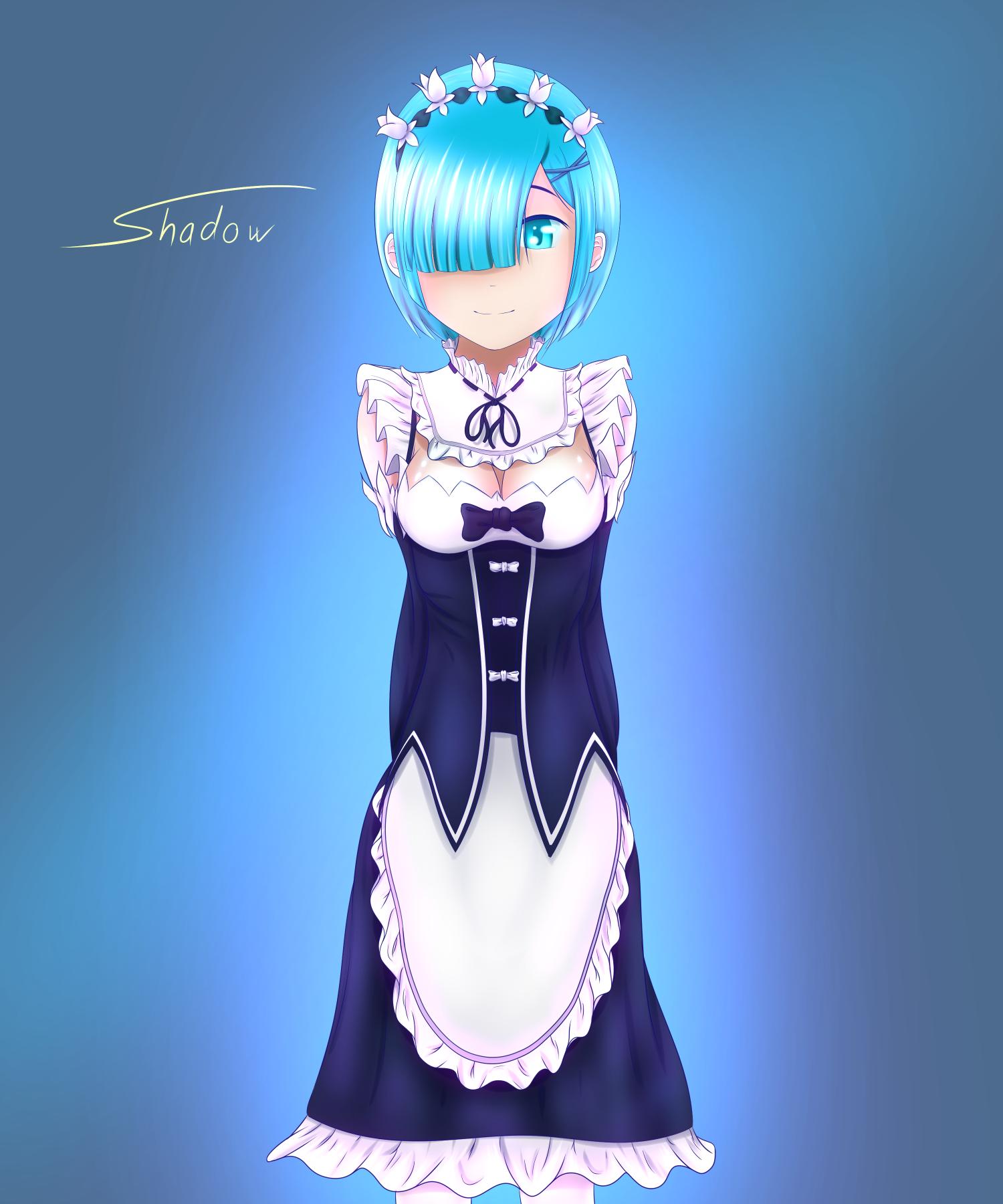 Rem ~ Re:Zero by ShadowOuO