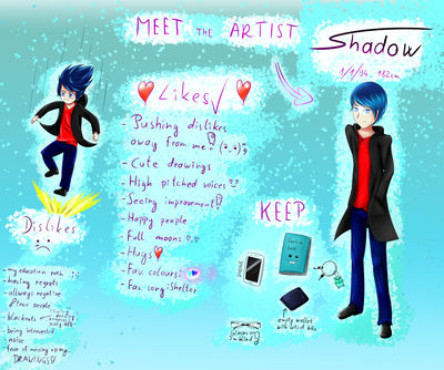 Meet the artist - Shadow by ShadowOuO