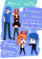 Twitter raffle by ShadowOuO