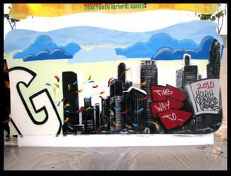 2010 YOG Graffiti Competition by newa