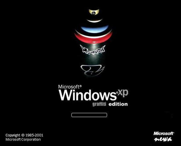Windows XP - Graffiti Edition by newa